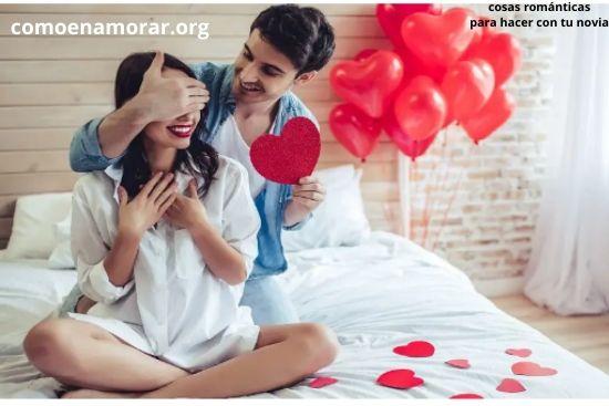cosas románticas para hacer con tu novia